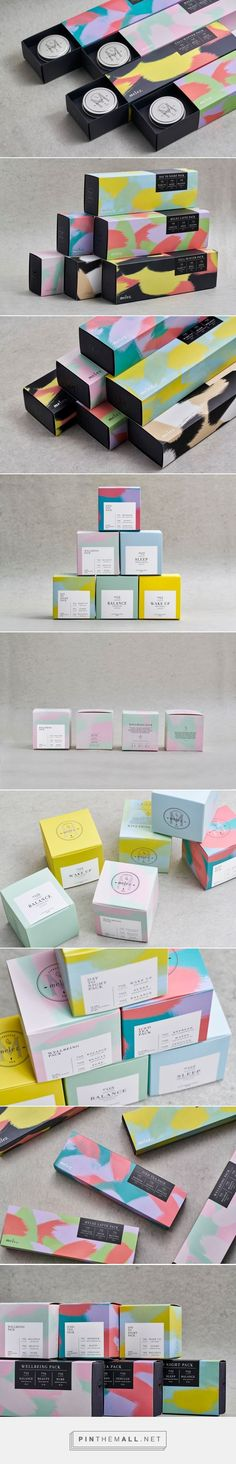 Beautiful airy pastel packaging + + +   Melez Tea Gift Packs design by Atelier Nese Nogay - http://www.packagingoftheworld.com/2017/03/melez-tea-gift-packs.html