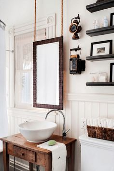 Mirrors are a necessity in the bathroom — but that doesn't mean they have to be basic or lack style. Here are some bathroom mirror ideas to inspire you.