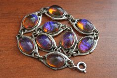 Vintage Dragons Breath Art Glass Silver by ToadSuckTreasures, $50.00