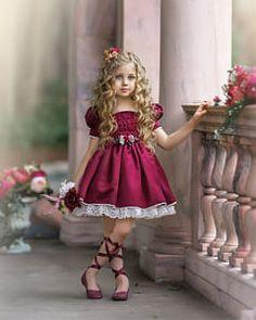 Cute Girl Dresses, Girls Party Dress, Flower Girl Dresses, Kid Dresses, Baby Girl Dress Patterns, Baby Dress, Baby Girl Fashion, Kids Fashion, African Dresses For Kids