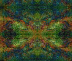 Foxfire fabric by serenityseyes on Spoonflower - custom fabric