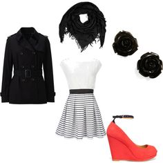 Out and about, created by khewit0 on Polyvore
