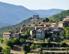 Aujac - village en Cévennes