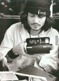 Beloved Johnny Depp and the Coolest Selfie Ever