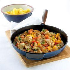 Puten-Gemüse-Pfanne | Weight Watchers