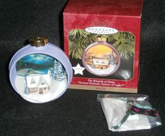 Hallmark Keepsake Christmas Ornament The Warmth of Home Thomas Kinkade #QXI7545 by DiscountFigurines on Etsy