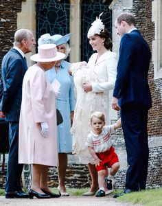 The christening of Princess Charlotte Elizabeth Diana, July 5, 2015.
