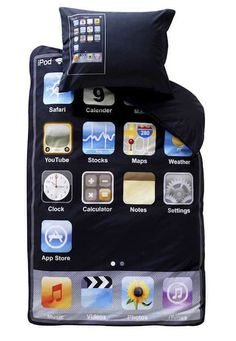 Apple fanboy sleeping kit..para amantes de apple
