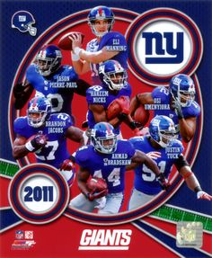 New York Giants Players | New York Giants 2011 Team Composite Photo at AllPosters.com