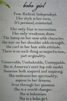 from Boho Girl Magazine