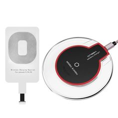 Wireless Charger Kit,Ultra-Slim Wireless Charging Pad for iPhone 6/6s Plus,Samsung S6, and All Qi-Enabled Devices $7.99 WAS $33.98 - http://supersavingsman.com/wireless-charger-kitultra-slim-wireless-charging-pad-iphone-66s-plussamsung-s6-qi-enabled-devices-7-99-33-98/