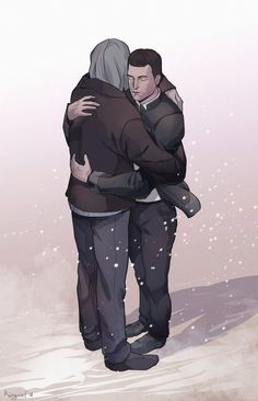 Detroit become human Connor and Hank By: ringeel (Praise the Sun)