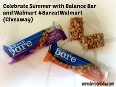 Celebrate Summer with Balance Bar and Walmart #BareatWalmart {Giveaway}