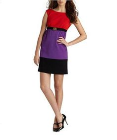 Milly Women's Sleeveless Natalie Colorblock Belted Dress (petite, Multicolor) I love the look of color block dresses as they are slimming and look adorable. I love the wide selection of patterns and colorblocking styles. My favorite color block dresses hug the bodys curves. You will apprecaite there are all kinds of sizes and materials to pick from. Pair this color block dress with the right shoes to elevate your fashion game to the next level.