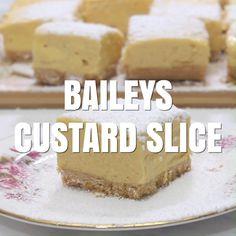Custard Recipes, Baking Recipes, Cake Recipes, Dessert Recipes, No Cook Desserts, Just Desserts, Delicious Desserts, Yummy Food, Xmas Food