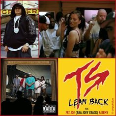 August 21, 2004 - Terror Squad started a three week run at No.1 on the US singles chart with 'Lean Back'. It also topped the R&B charts for more than a month. The single, produced by Scott Storch, is off of Terror Squad's album True Story. It features Fat Joe with Remy Ma performing the second verse. - THIS IS NOT MUSIC, THIS IS A TRIP: http://instagram.com/cmputrbluu  #thisdayinmusic‬