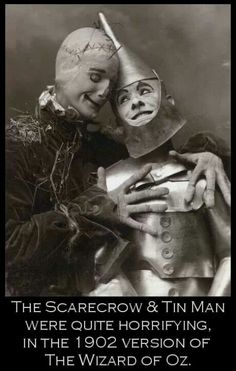 Who Knew these 2 could be so disturbing looking..