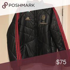 Puffer jacket Adidas ac Milan puffer jacket xl Adidas Jackets & Coats Puffers