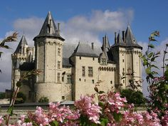 Saumur Castle - Loire Valley, France - Cinderella was a French Fairy Tale - this could be the French Cinderella's castle.