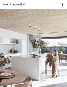 Sydney architect Madeleine Blanchfield won the My Ideal House design competition. Sydney architect Madeleine Blanchfield won the My Ideal House design competition run by Australian House and Garden and Mirvac with her plan for this . Style At Home, House Ideas, Australian Homes, Australian Interior Design, Cuisines Design, Küchen Design, Design Ideas, Ideal Home, Interior Design Kitchen