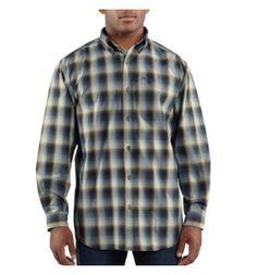 Carhartt - Product - Men's Bellevue Plaid Long-Sleeve Shirt