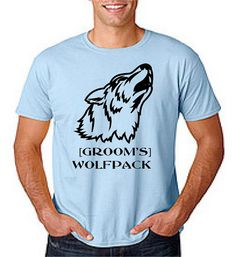 Bachelor Party Shirt Custom Made to Order Grooms by Eventees, $12.00