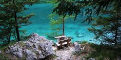 Grüner See | © Tourismusverband Tragöß | Corina Graf Outdoor Furniture, Outdoor Decor, Park, Nature Reserve, Road Trip Destinations, Vacation, Nice Asses, Parks, Backyard Furniture