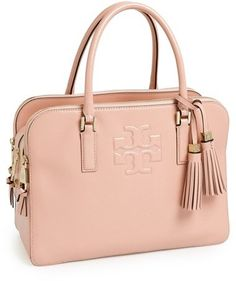 Tory Burch 'Thea' Patent Leather Triple Zip Satchel