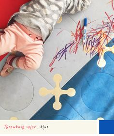 throwback color: blue #virr #blue #art #painting #baby #kids #playmat #colors #throwback #feelings #skiphop #livecolorfully #thinkcolorfully #pen #draw #rought #creativity #design #graphics #play