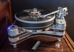 """Vinyl was spun on a Clearaudio Innovation Wood turntable fitted with a 9"" Universal tonearm and Clearaudio da Vinci cartridge."" - Ultra High-End Audio and Home Theater Review, International CES 2013"