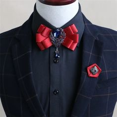 Mantieqingway Business Double Ribbon Collar Bow Tie for Mens Wedding Tuxedo Bowties for Women Adjustale Corbatas Neck Ties Tuxedo Wedding, Wedding Men, Wedding Groom, Wedding Suits, Wedding Tuxedos, Women Bow Tie, Men Ties, High Fashion, Classy Outfits