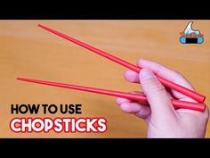 How to Use Chopsticks (Tutorial with Bonus Bean Challenge) お箸の上げ下ろし方、知ってます? How To Hold Chopsticks, Using Chopsticks, Potatoes In Oven, How To Cook Potatoes, Baguette, Etiquette And Manners, Cooking Tips, Food Tips, Tips