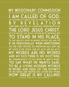 My Missionary Commission Subway Art by simplyfreshdesigns Missionary Mom, Sister Missionaries, Missionary Farewell, Lds Missionary Quotes, Missionary Homecoming, Missionary Pictures, Missionary Packages, Lds Quotes, Inspirational Quotes