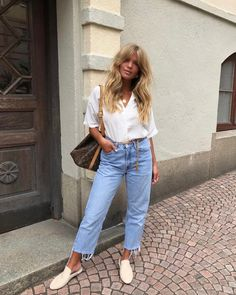Best Jeans For Women Jins Pant For Man – bueatyk Style Outfits, Mode Outfits, Fashion Outfits, Style Clothes, Comfy Clothes, Looks Style, Style Me, Spring Summer Fashion, Spring Outfits