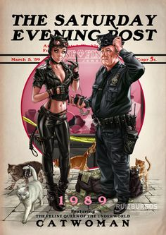 Superheroes Go Norman Rockwell In Adorable Saturday Evening Post Covers