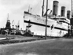 Wall Clock War Requistioned White Star Liner HMHS Britannic Replica