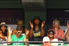 """Even watching she is Serena """"the serious"""""""