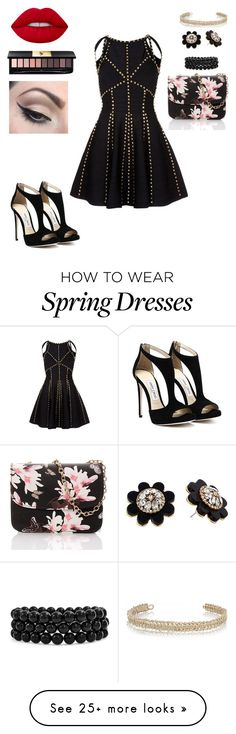 """""""Untitled #529"""" by aminamuratovic3 on Polyvore featuring Bling Jewelry, Kate Spade, Maison Margiela, Lime Crime, Yves Saint Laurent and Mehron"""