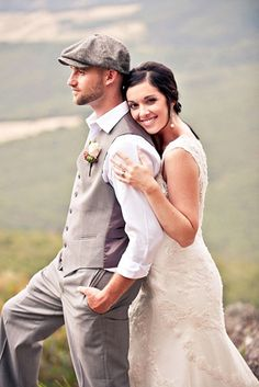 country rustic groom attire with cap mark quade 25