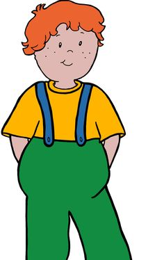Leo for Caillou
