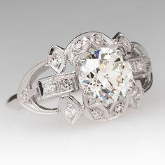 1920's antique diamond ring