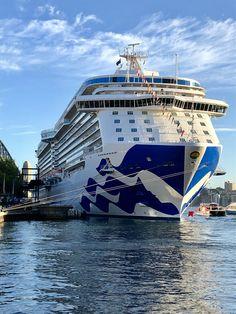 Majestic Princess at the Overseas Passenger Terminal in Sydney Bateau Yacht, Celebrity Cruises, Disney Fantasy, Princess Cruises, Travel Humor, Royal Caribbean, Funny Art, Romantic Travel, The Good Place