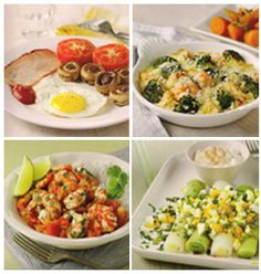 Delicious recipes from the 'Meals  in Minutes' recipe book.