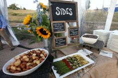 country-style-wedding-food