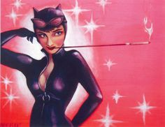 Catwoman, by Ashley Tomashot For more information on Ashley's art and graphic/web design, visit her on Facebook/AshleyNorfleetArt