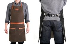 Denim Pitmaster Apron, by Hardmill