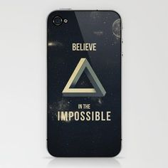Impossible iPhone & iPod Skin by Zach Terrell - $15.00