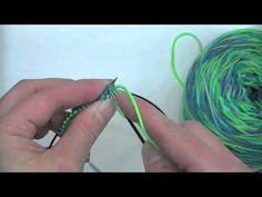 Toe Up Socks - The Toe - Tutorial - Knitting Blooms