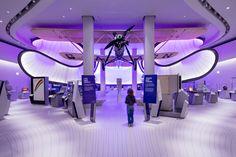 Mathematics Gallery at the Winton Gallery by Zaha Hadid Architects London  UK