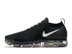 sports shoes acaa5 12040 Running Nike Air VaporMax Flyknit 2.0 Black White 942842 001 Chaussures Nike  Pas cher Pour HOmme Noires